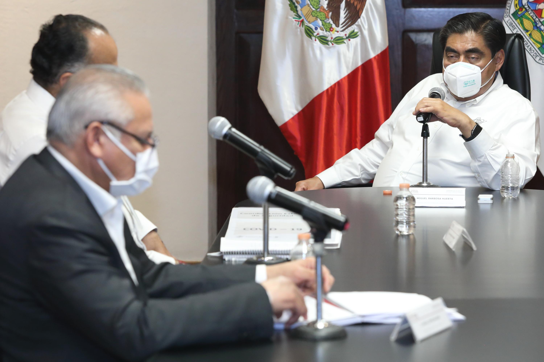 La actividad delictiva ha disminuido en Puebla, sostiene Barbosa Huerta