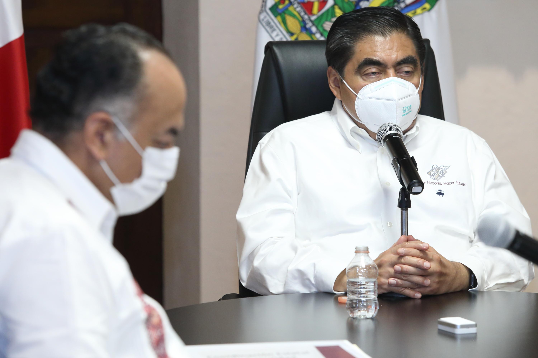 Mantiene el gobierno de Puebla acciones para la atención de pacientes con COVID-19.