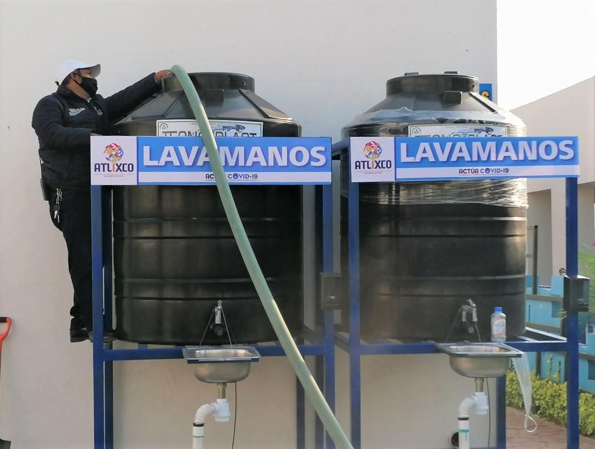 SOAPAMA suministrará de agua a los 25 lavamanos que se instalarán en el municipio
