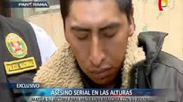 Asesino en serie da aterradora confesión desde las alturas del país