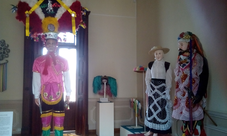 Danza de Cúrpites en el Museo Nacional de la Máscara