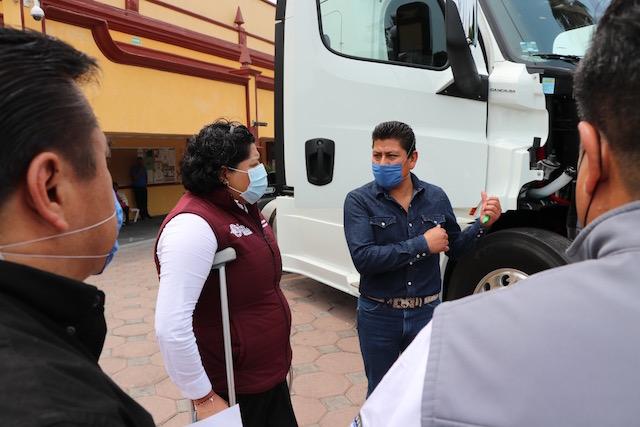 Más apoyos e impulso al campo sanandreseño: Karina Pérez Popoca