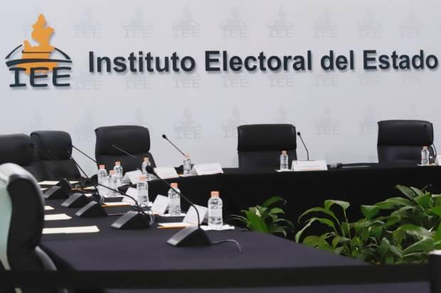 Segunda ampliación de suspensión de labores del IEE