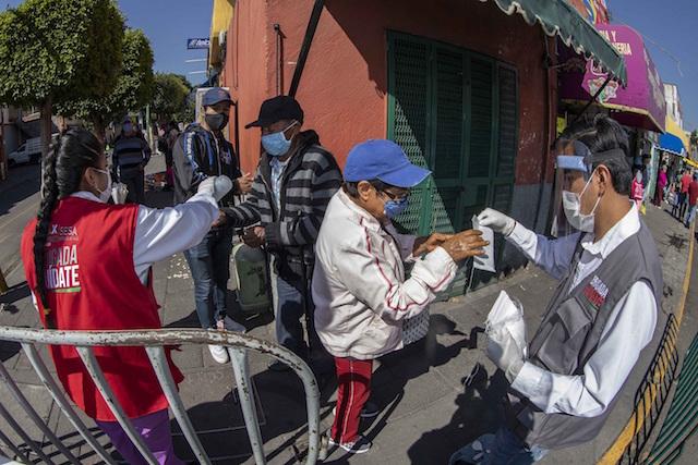 Video desde Puebla: Brigadas Cuídate del gobierno de Tlaxcala otorgan servicios médicos a pacientes con enfermedades crónicas