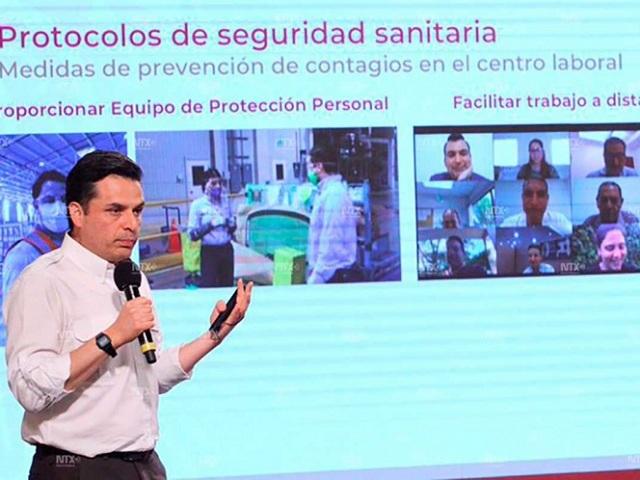 IMSS presenta protocolos para regreso a áreas de trabajo
