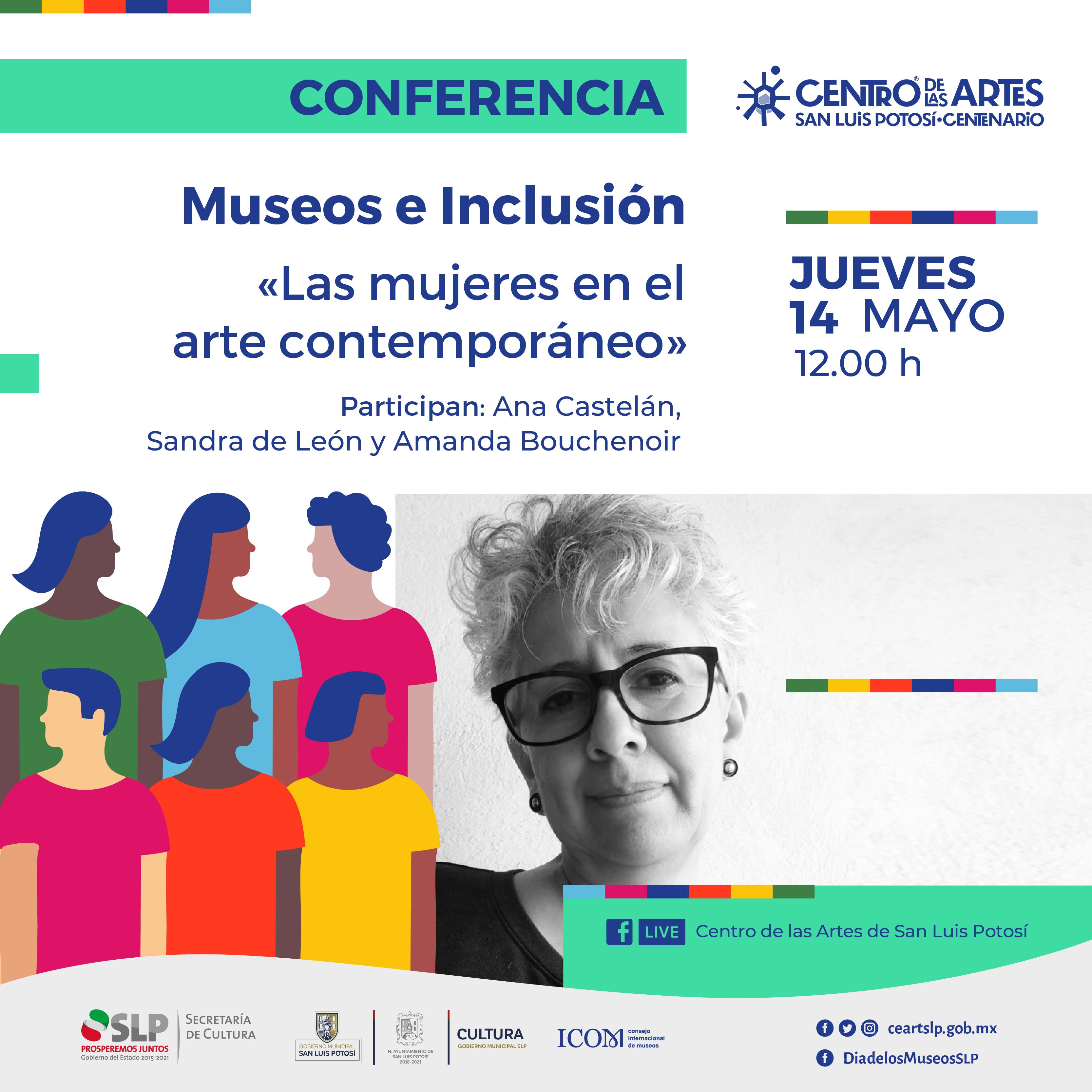 Actividades virtuales del Centro de las Artes, por el día internacional de los museos 2020