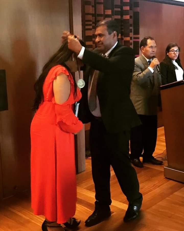 Escritora peruana Fiorella Gutiérrez recibió premio de literatura en Cusco