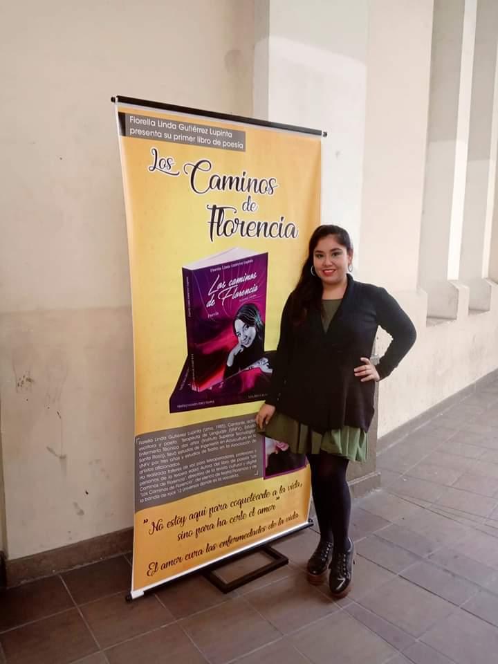 Fiorella Gutiérrez y su libro los Caminos de Florencia