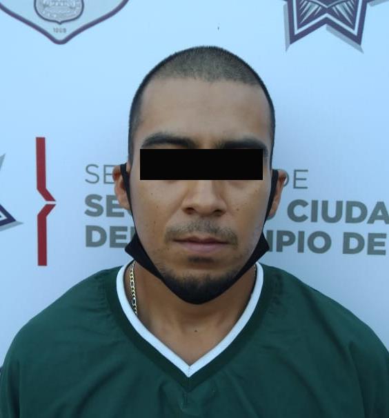 Aseguró Unidad Canina de la Policía Municipal de Puebla más de tres kilogramos de posible marihuana; hay un hombre detenido