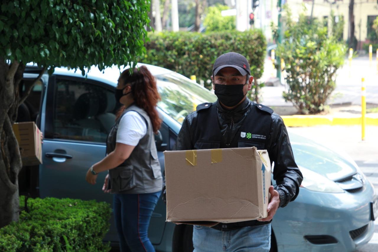 Grupo Modelo y Cerveza Victoria entregan 10 mil tapabocas a SEMOVI para beneficiar a taxistas, choferes y personal de trámites vehiculares