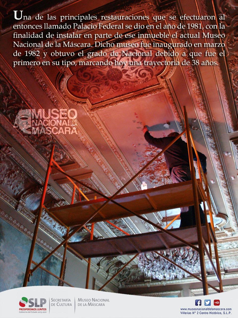 El Museo Nacional de la Máscara, antes Palacio Martí