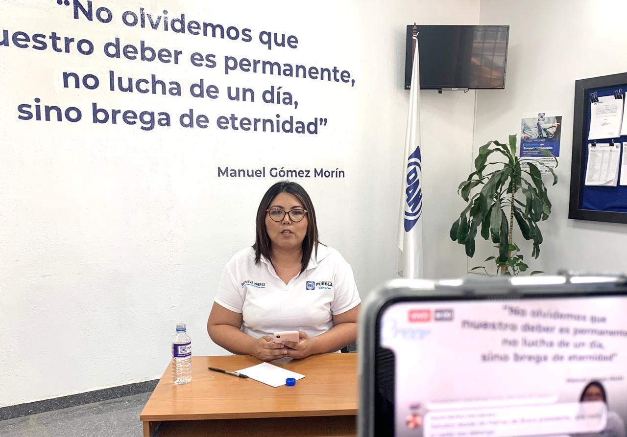 Imparable la inseguridad en Puebla con gobiernos de Morena: Genoveva Huerta