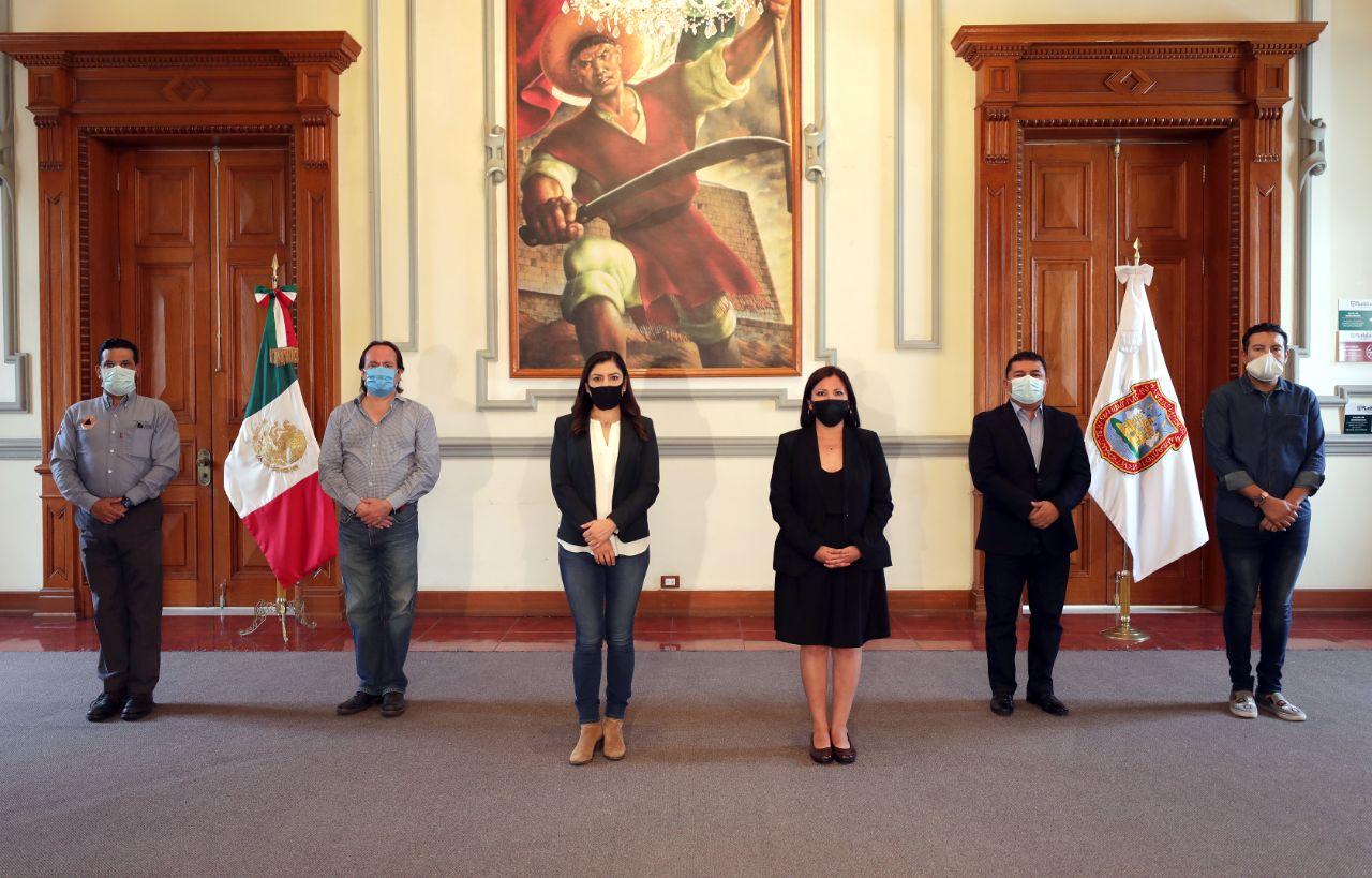 Ratifican a secretarios en el ayuntamiento de Puebla