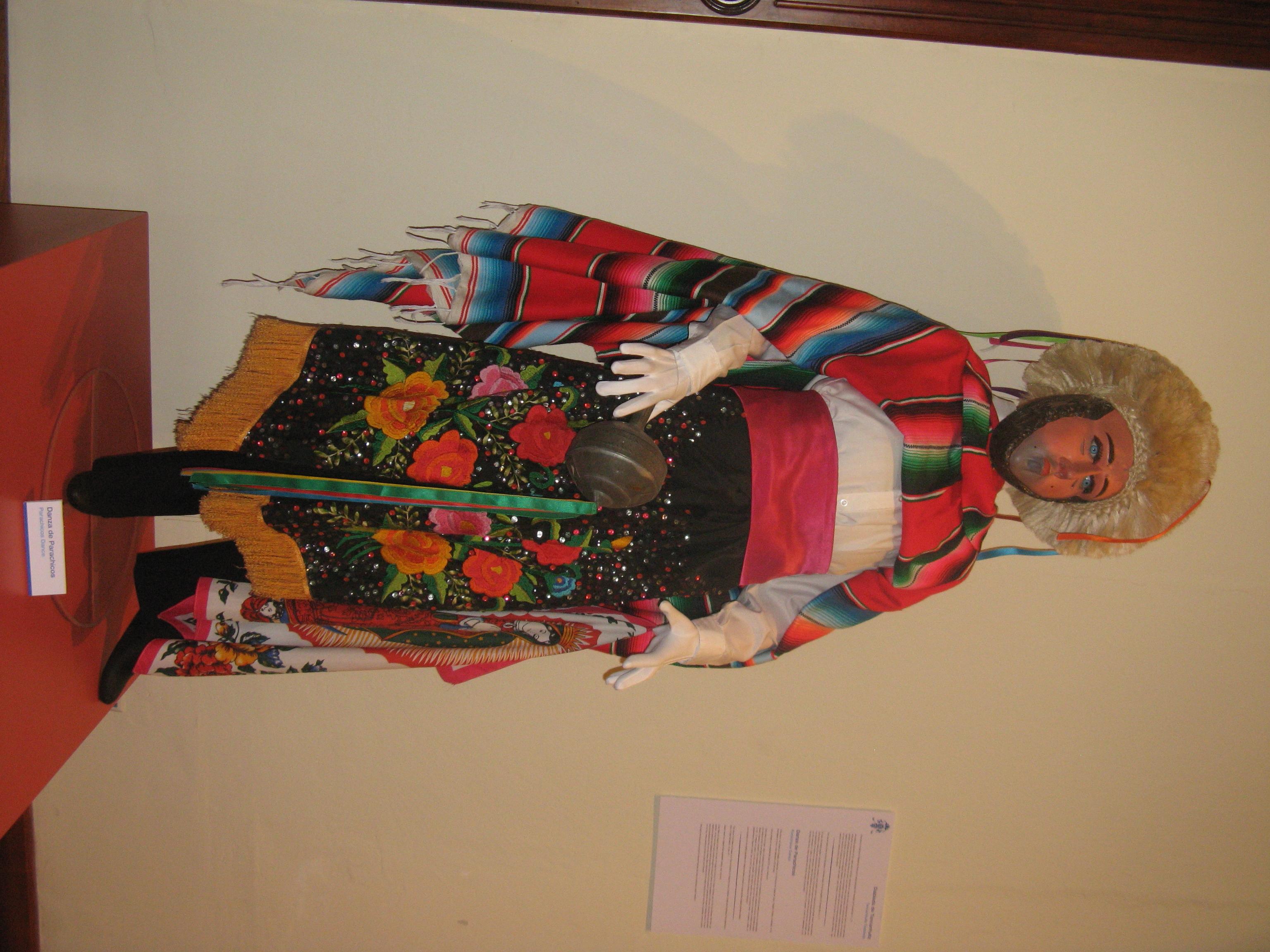 Los Parachicos en el Museo Nacional de la Máscara
