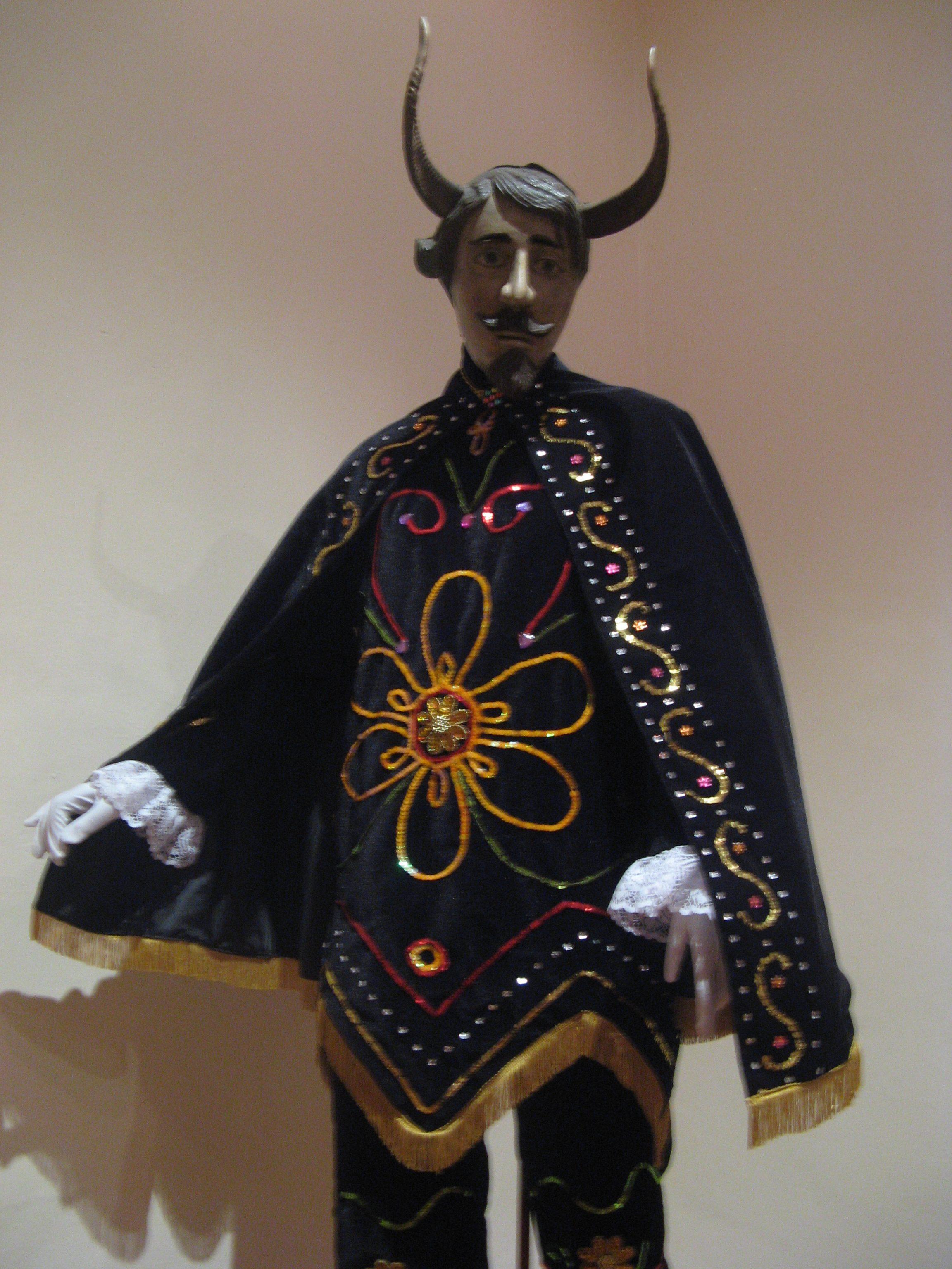 Máscara de Diablo de Pastorela