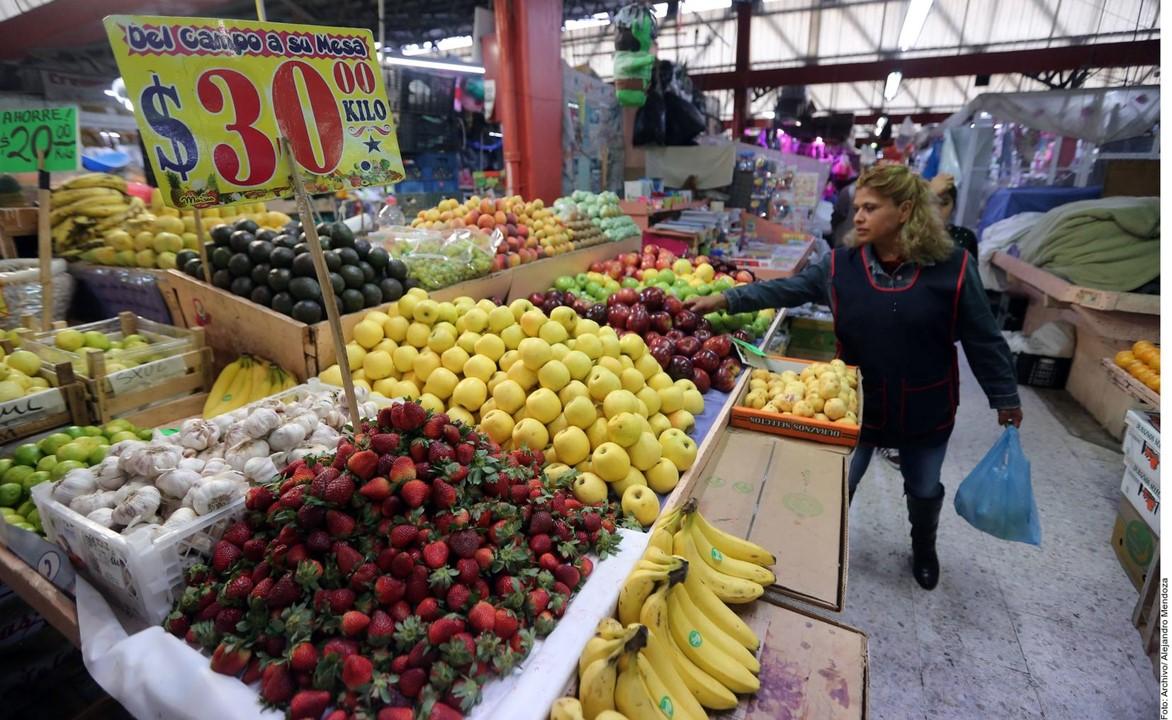 El Índice Nacional de Precios al Consumidor (INPC) presentó una disminución de (-)1.01 por ciento