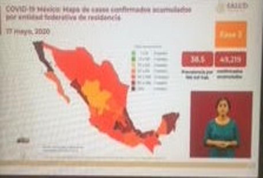 México suma 5 mil 177 muertos y 49 mil 219 casos de Covid19: Salud federal