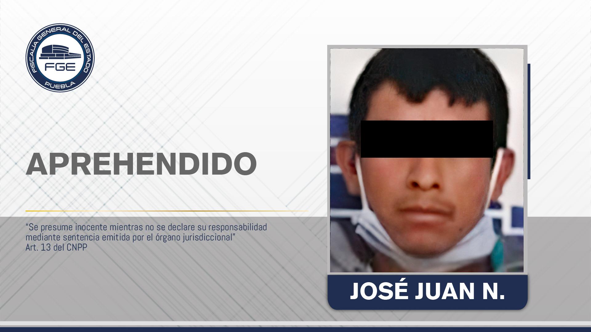 Aprehendido por asesinar a un hombre en Tehuacán
