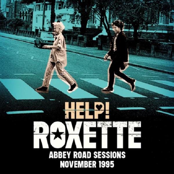 """Roxette promueve su versión de """"¡Help!"""" en homenaje a The Beatles, grabada en los estudios Abbey Road el 15 de noviembre de 1995"""