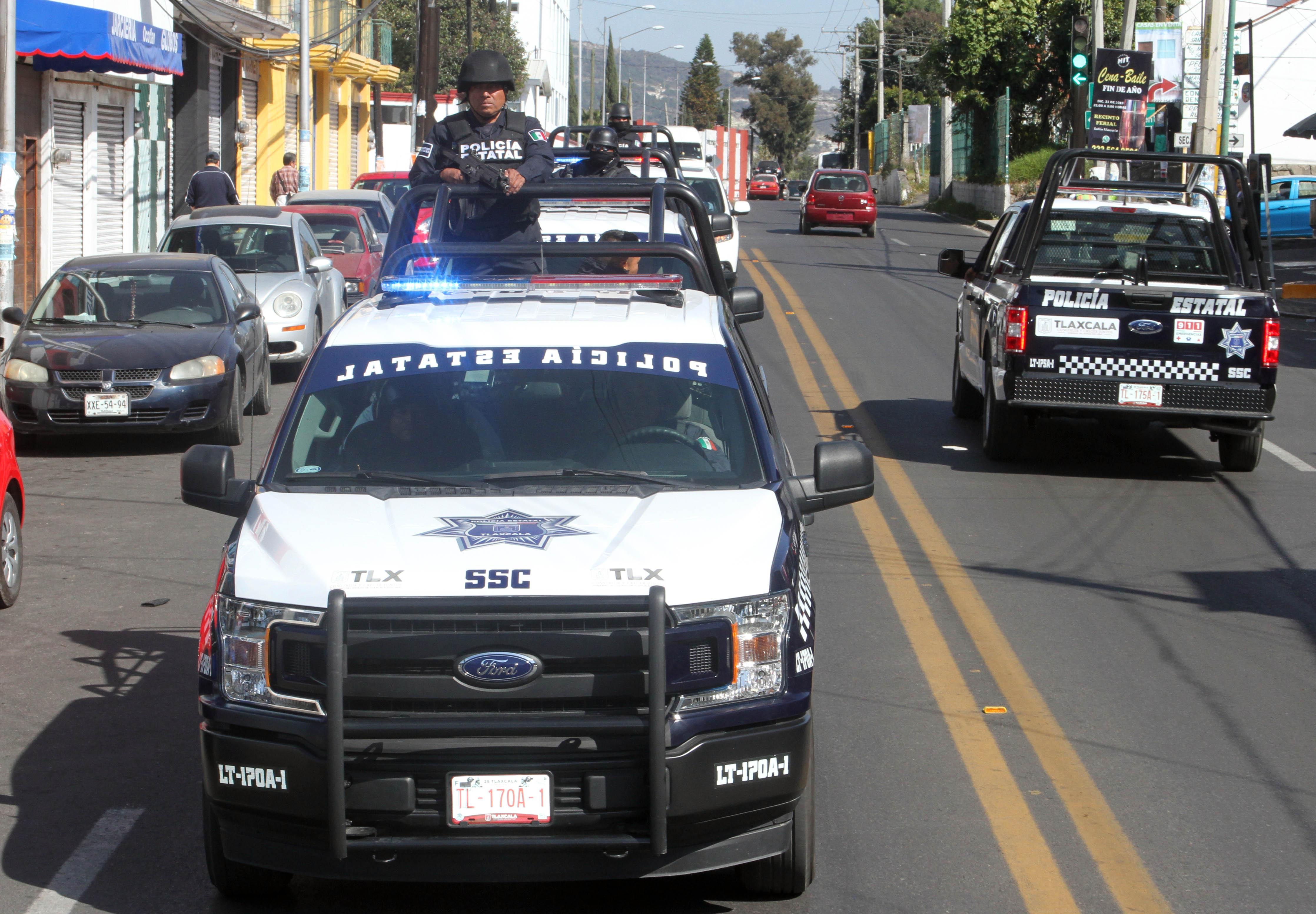 Desde Tlaxcala: SSC en coordinación con las policías municipales, realizan acciones contra el robo a casa habitación en la entidad