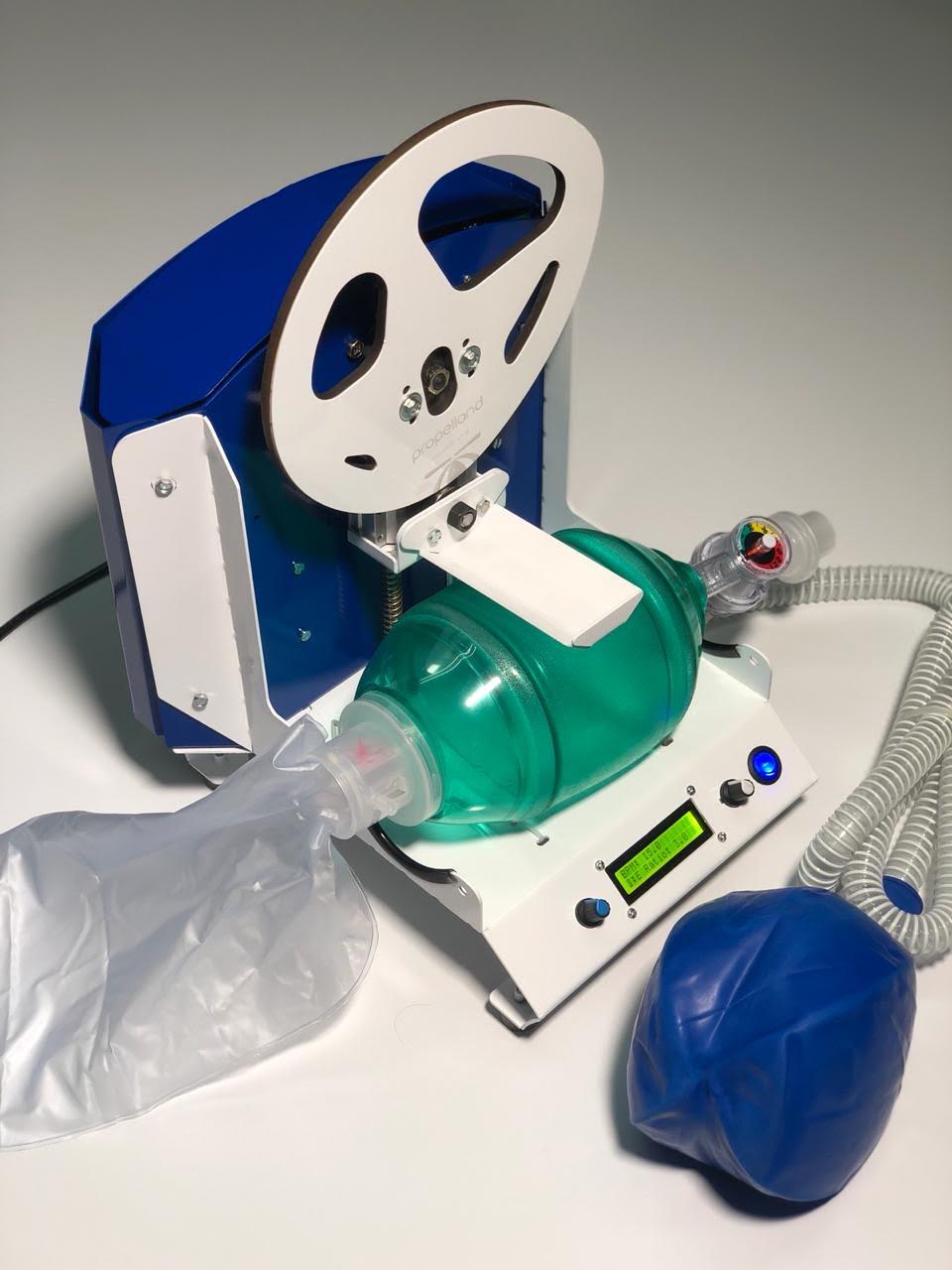 Equipo mexicano desarrolla prototipo para la automatización de respiradores manuales