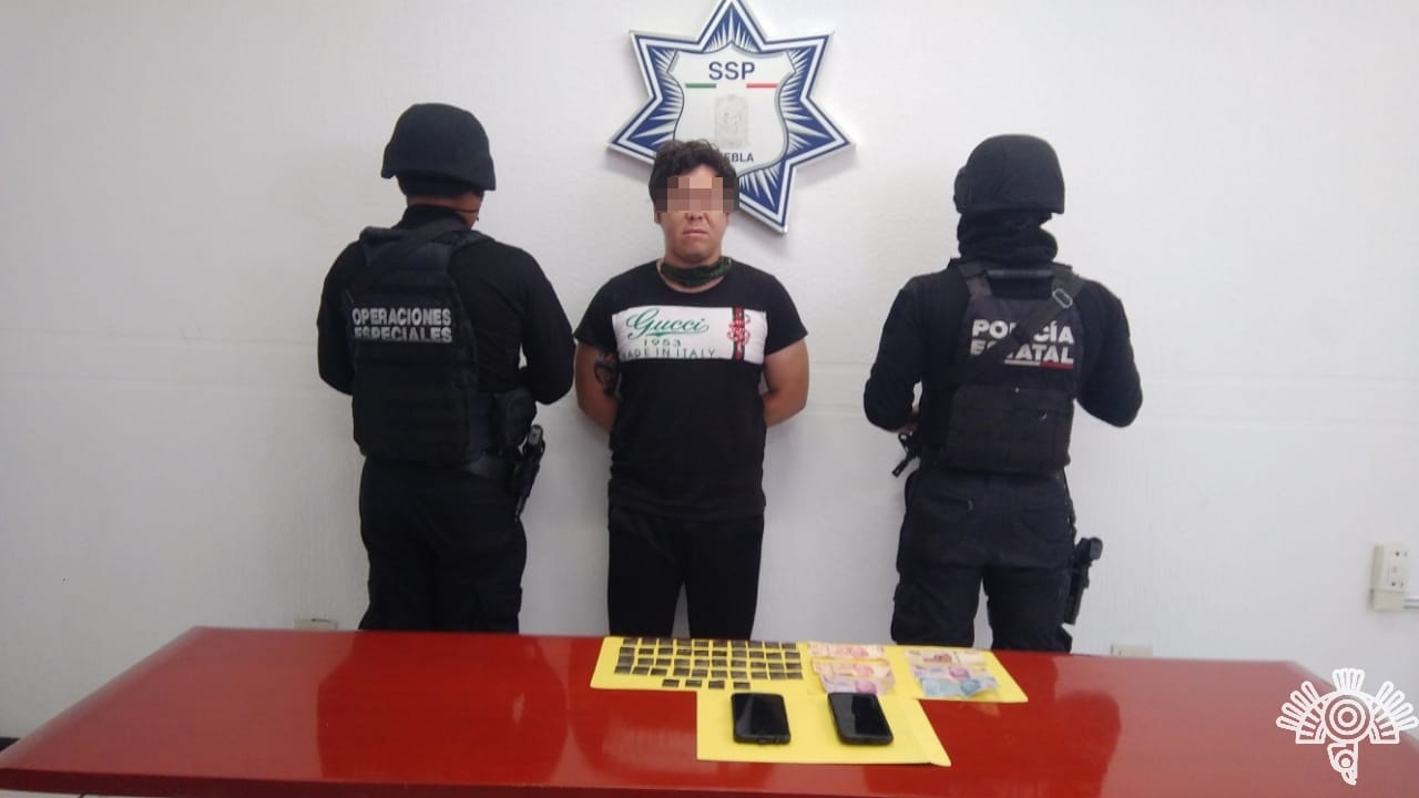 """Agentes de la Policía Estatal detienen a presunto integrante de """"La Mafia de Analco"""""""