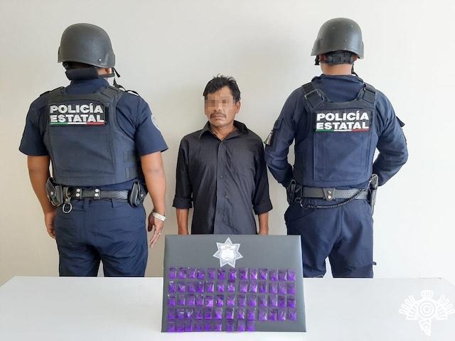 """Integrante de la banda de """"Los Pata"""" fue detenido por la SSP"""