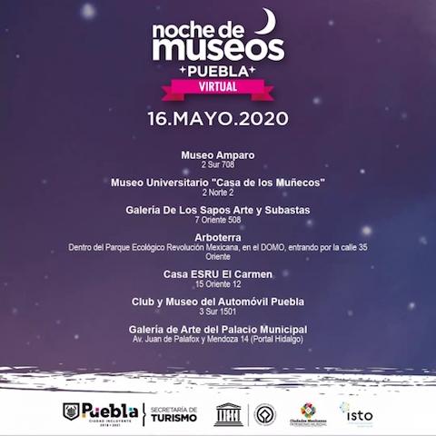 Hoy y mañana: No te pierdas la noche virtual de museos este 16, 17 y 18 de mayo