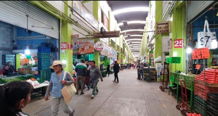 Bajan en un 40 por ciento las ventas en la Central de Abasto de Puebla