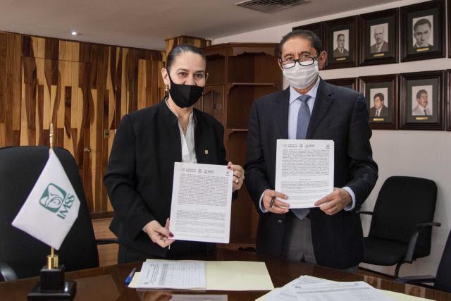 Firman convenio de colaboración HUP e IMSS para garantizar atención bilateral en beneficio de sus derechohabientes