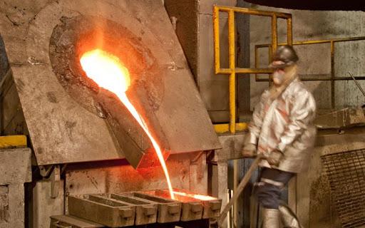 El índice de volumen físico de la Producción Minerometalúrgica del país disminuyó (-)5.1%