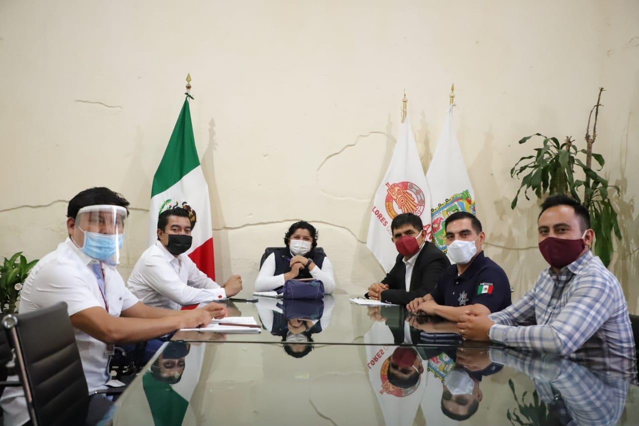 Gobierno de San Andrés Cholula alista estrategia hacia la nueva normalidad