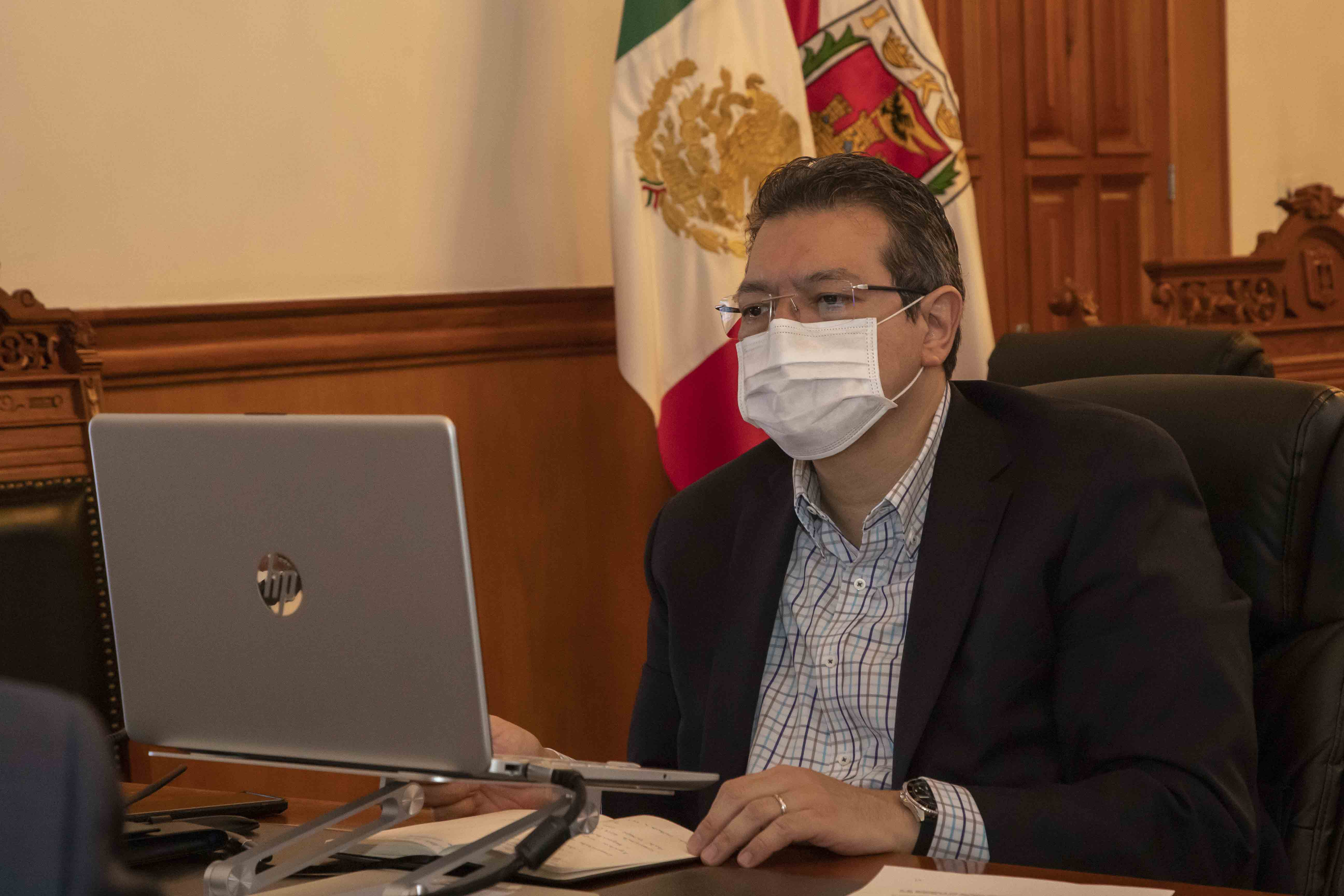 Marco Mena participa en reunión con embajador Christopher Landau,ante puesta en marcha del T-Mec.