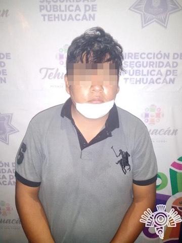 """Policía Estatal y municipal de Tehuacán detienen a integrantes de la banda de """"El Cubano"""""""