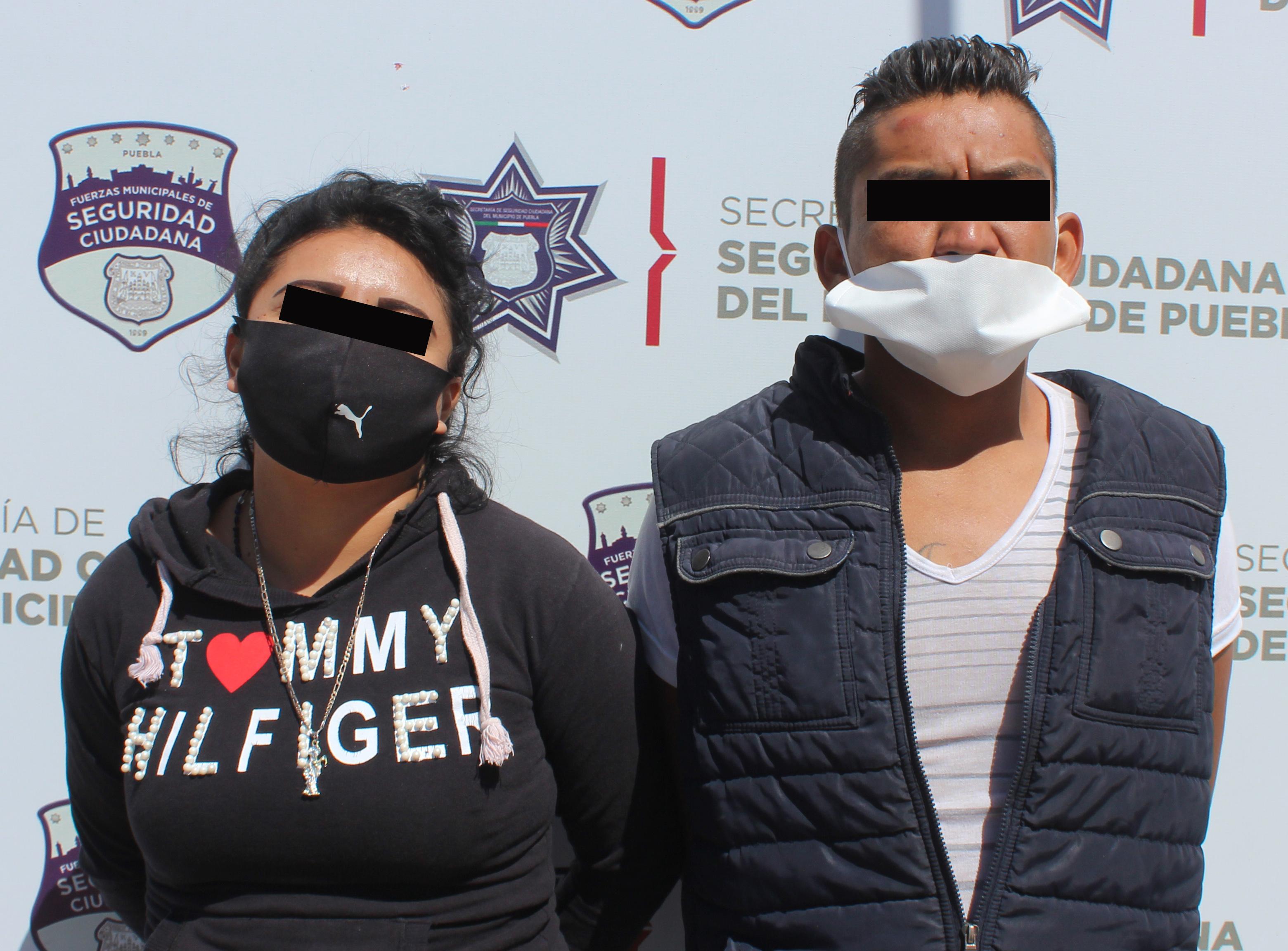 Detuvo policía municipal de Puebla a pareja de usuarios de la ruta Cree Madero