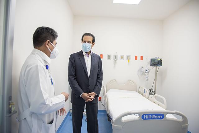 Otorga BUAP base a 53 médicos y Bono COVID a personal del HUP que atiende el área de enfermedades respiratorias agudas