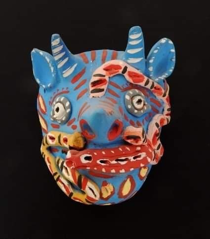 Máscaras de barro en el Museo Nacional de la Máscara