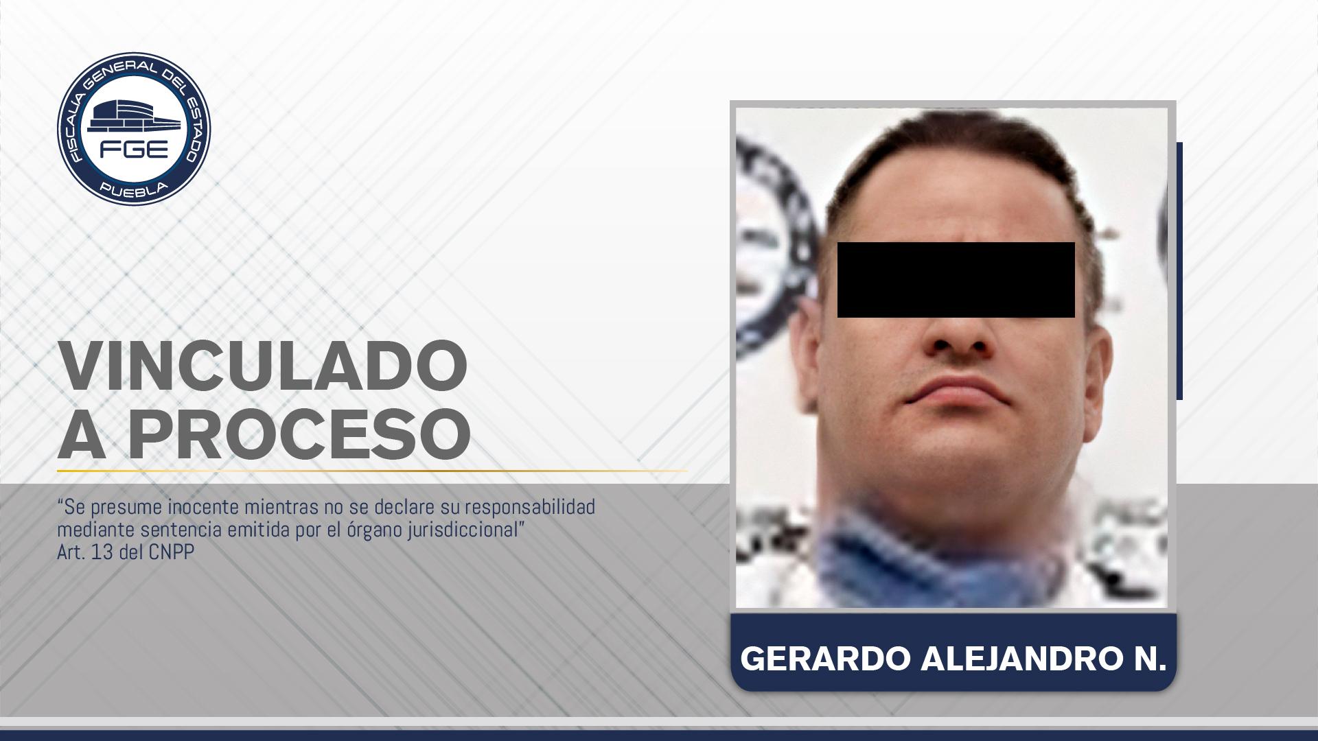 FGE obtuvo prisión contra presunto integrante de banda delictiva
