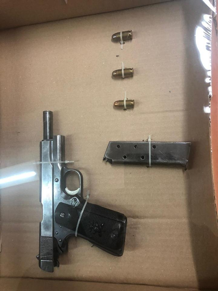 La SSC asegura en Chiautempan a una persona por portación ilegal de arma de fuego
