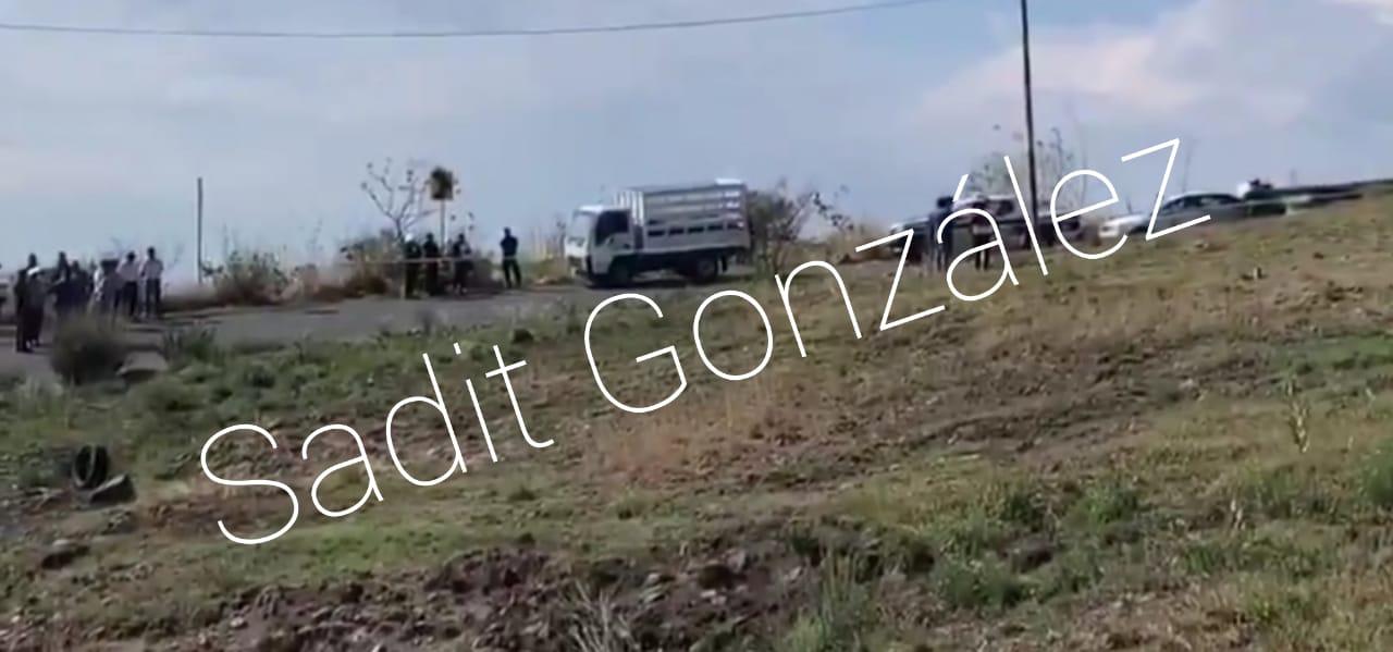 Arrodillan a camionero y le dan un balazo en la cabeza en los límites de Azumiatla y Ocoyucan