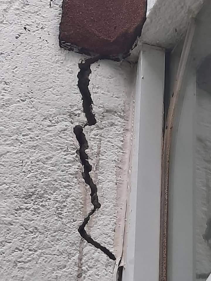 En Lomas de Angelopolis 3 perteneciente a Ocoyucan si hubo daños estructurales con este sismo