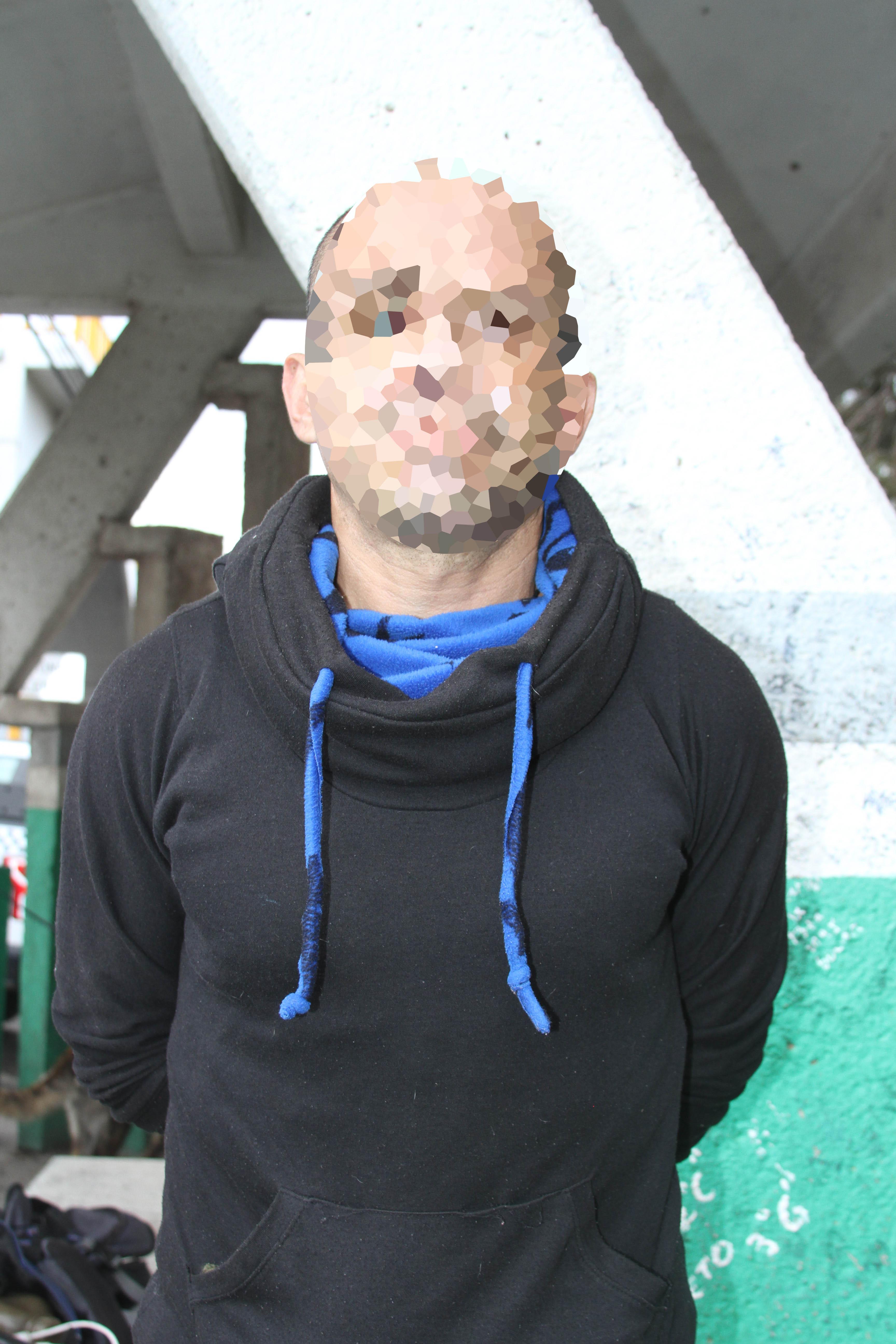 Desde Tlaxcala: SSC asegura a una persona con armas punzocortantes en el transporte público