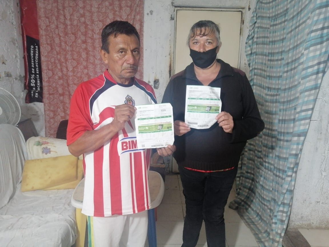 Recriminan incongruencia de Morena por las impagables tarifas de la CFE en la colonia Cencalli