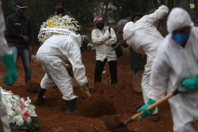 COVID-19: Brasil registra 24.800 nuevos casos y 497 muertes más en 24h