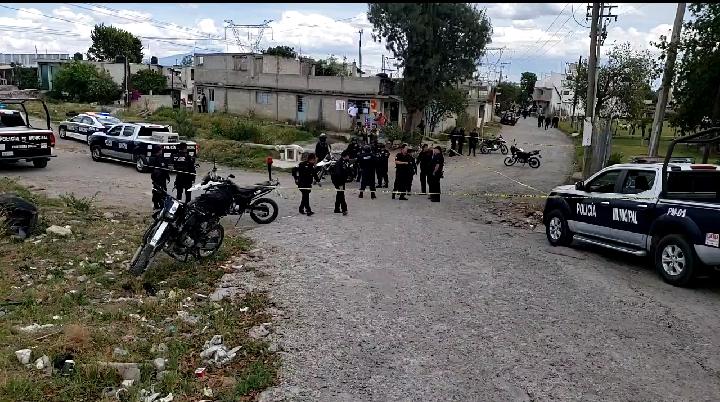 Atacan a balazos a pareja en San Martín Texmelucan