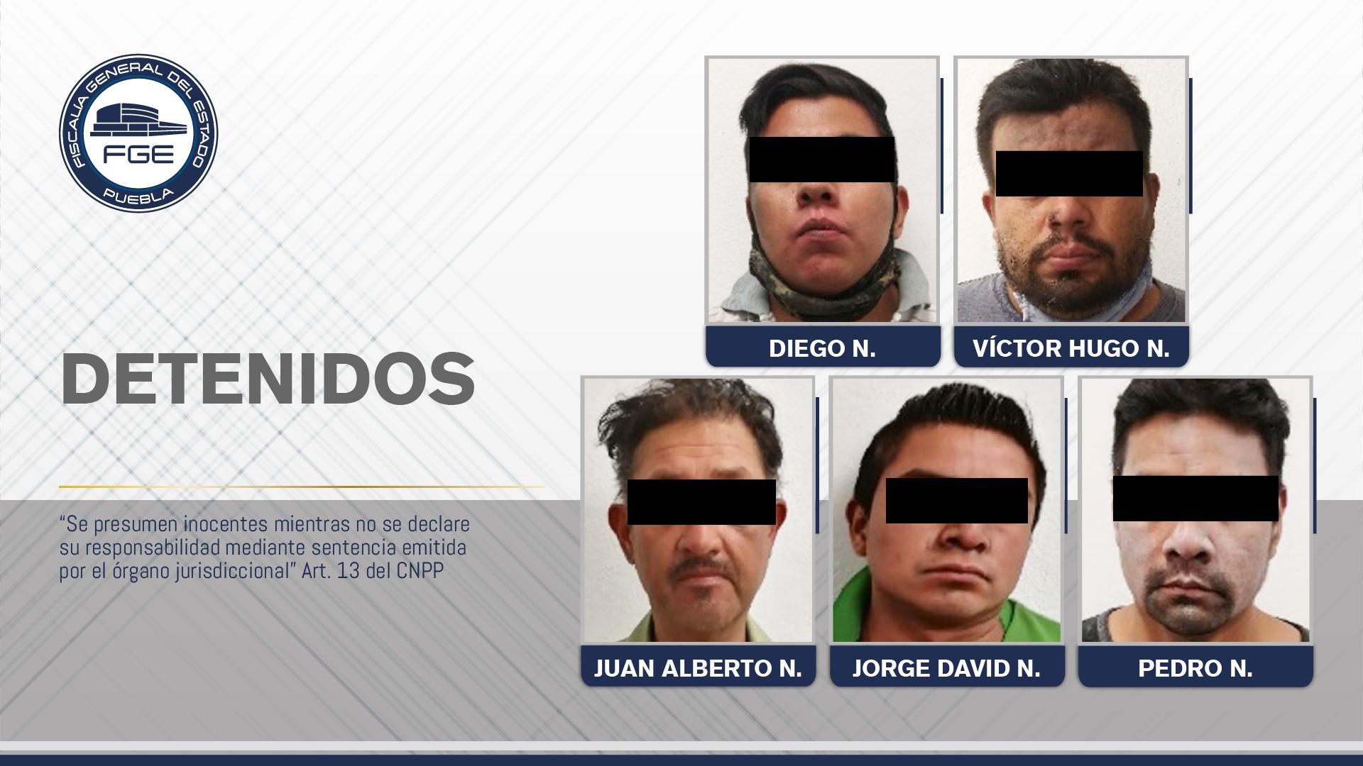 Fiscalía Puebla detuvo a banda de secuestradores, 3 son de Veracruz