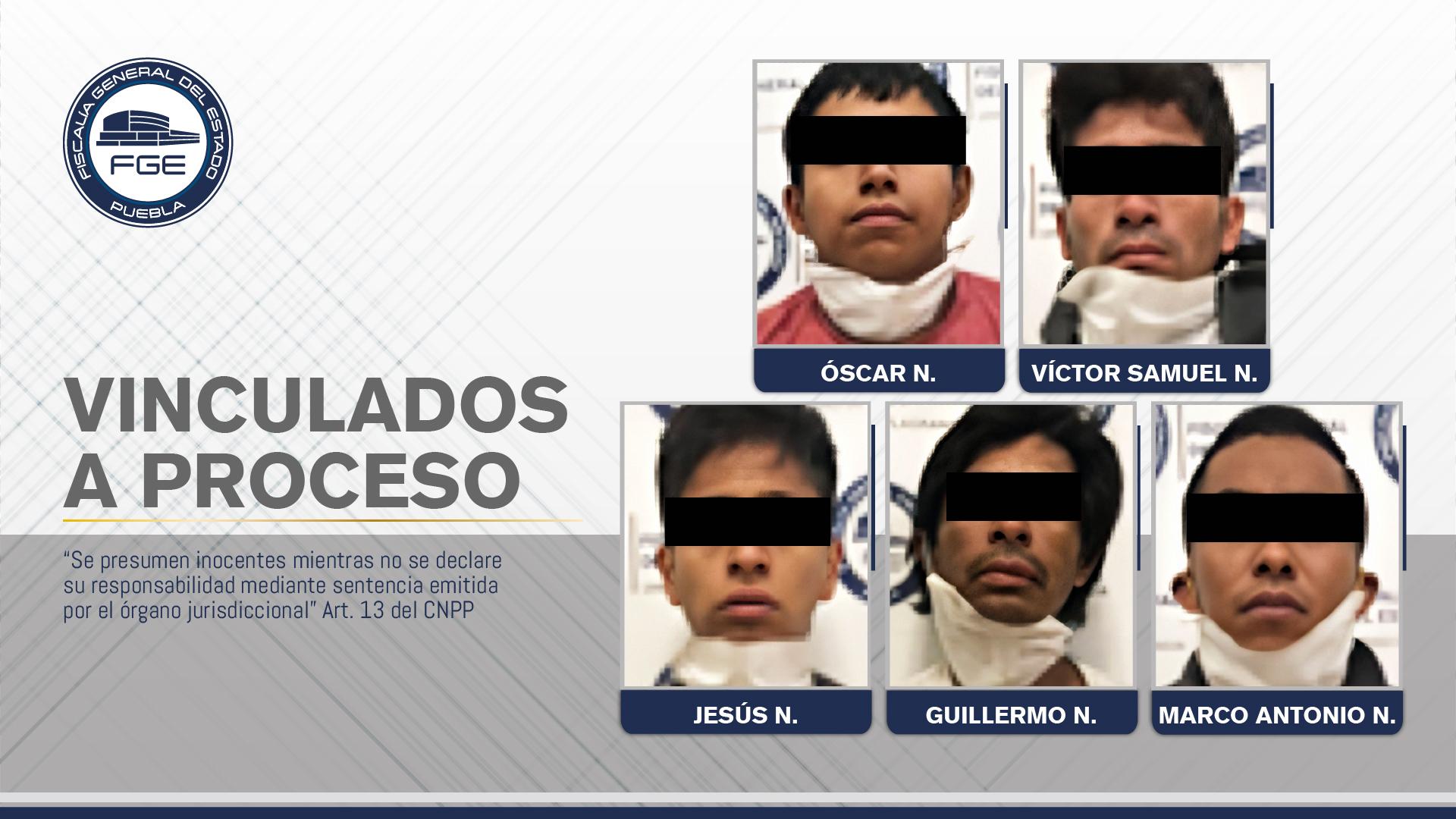 Prisión contra cinco hombres que robaron bicicleta de un ciudadano