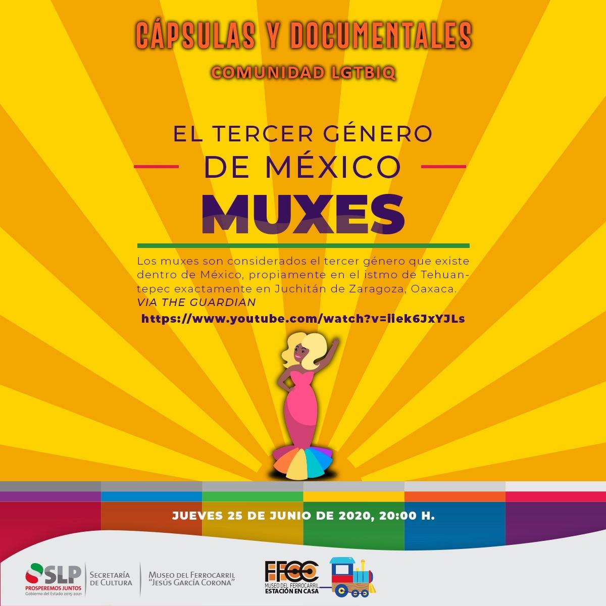 Actividades culturales para conmemorar el Día del Orgullo LGBTTTIQ+