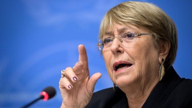 Bachelet: La anexión de parte de Cisjordania es ilegal y no admite dudas