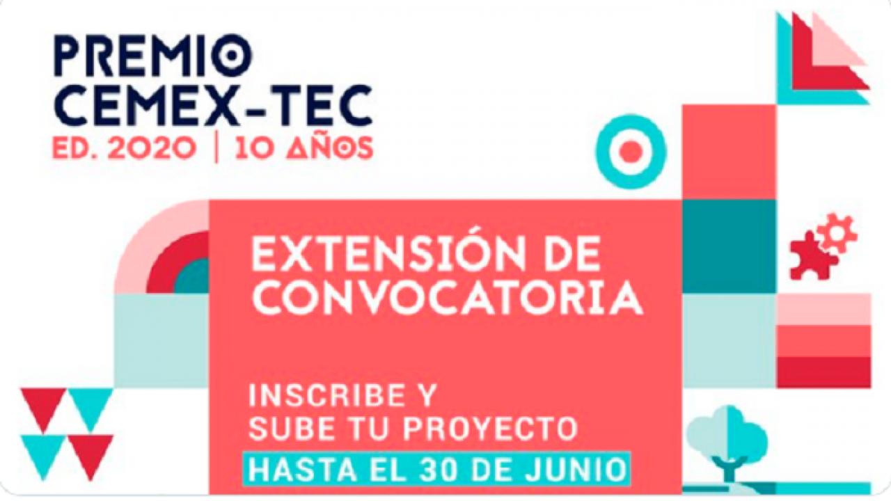 Premio CEMEX-TEC apuesta por proyectos que mejoren el mundo en tiempos de COVID-19